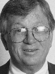 Essex Town Manager Pat Scheidel, photographed Dec. 30, 1997.