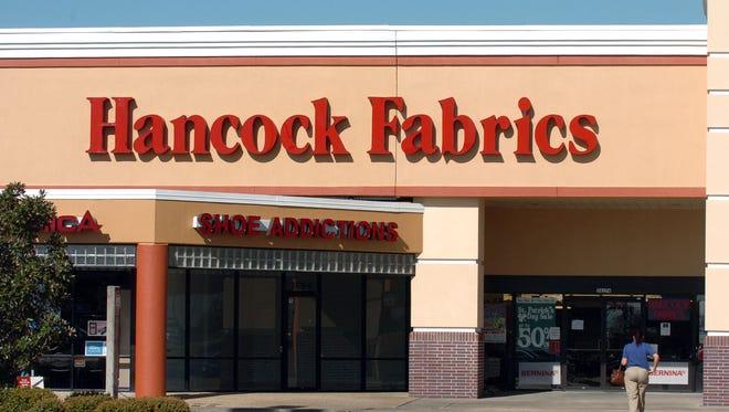 Hancock Fabrics on Ambassador Caffery Parkway.