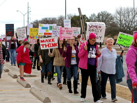 Women's March of the Falls