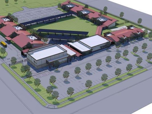 Rendering of Riverway Elementary School