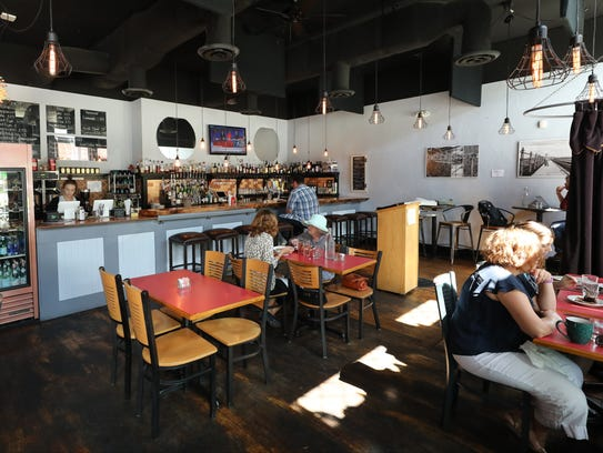 The dining area at BC Kitchen in Poughkeepsie, Sept.
