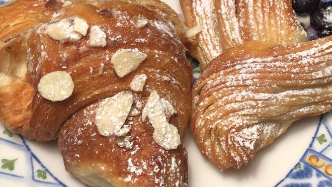 Lowder Baking Company offers croissants, breads and pastries to go.
