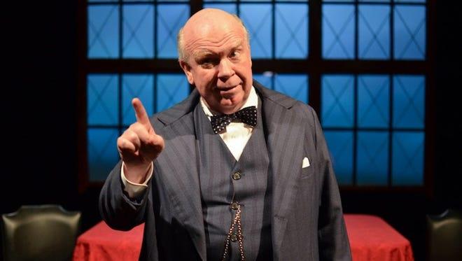 "Ron Keaton will portray Winston Churchill during performances of ""Churchill"" June 3-5 at Warren Performing Arts Center."