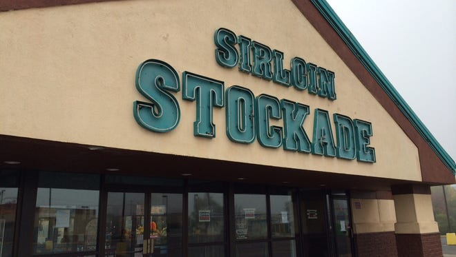 A sign hanging at Sirloin Stockade Wednesday morning said the restaurant was closed, and thanked customers for 18 years.