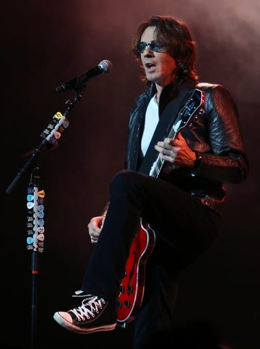 Rick Springfield performs for the crowd at the Palace.  July13, 2014