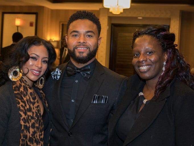 Desiree Townsend, Michael Smith and Kim Johnson during