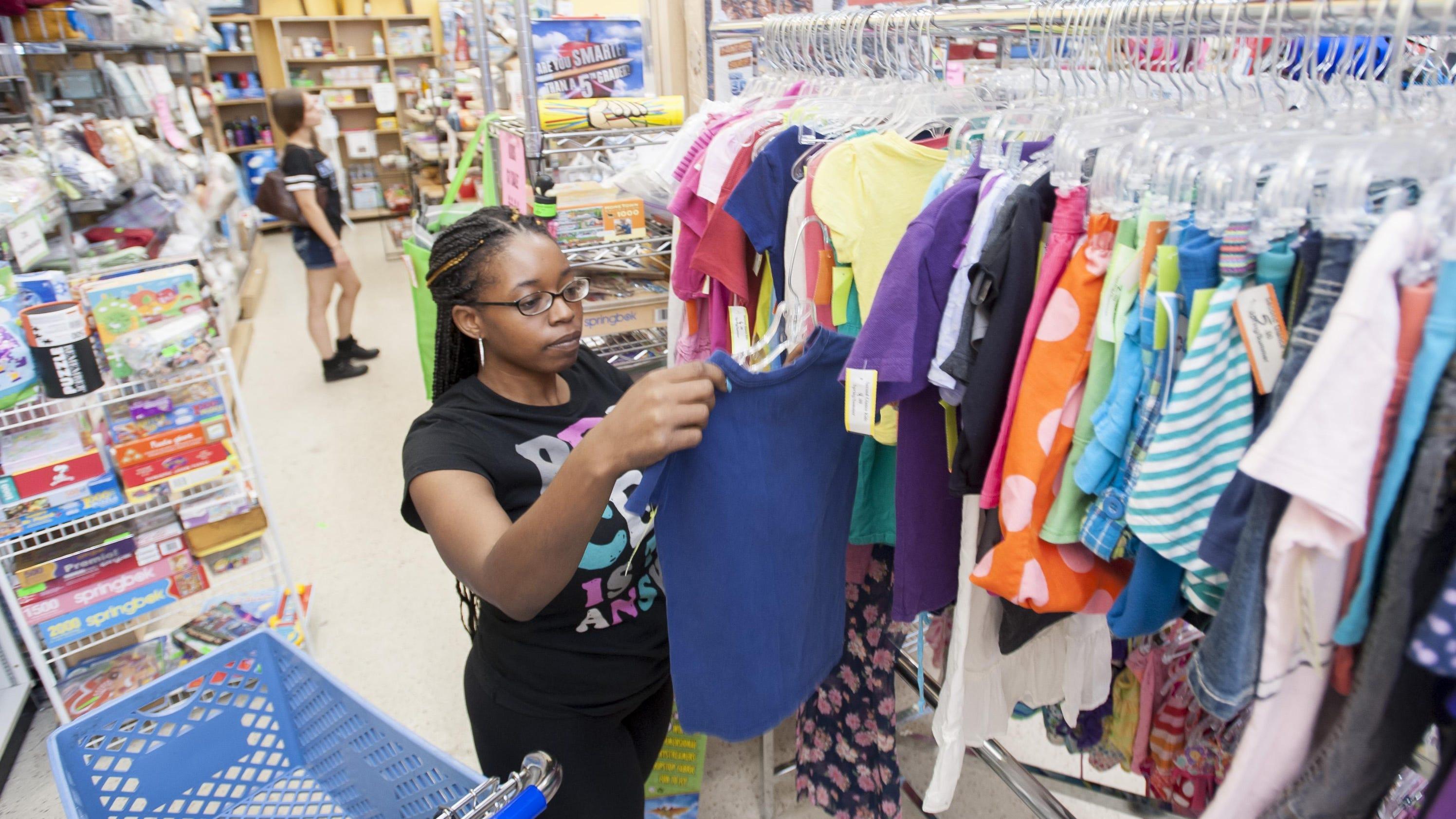 School shopping trend: Less spending, more thrift