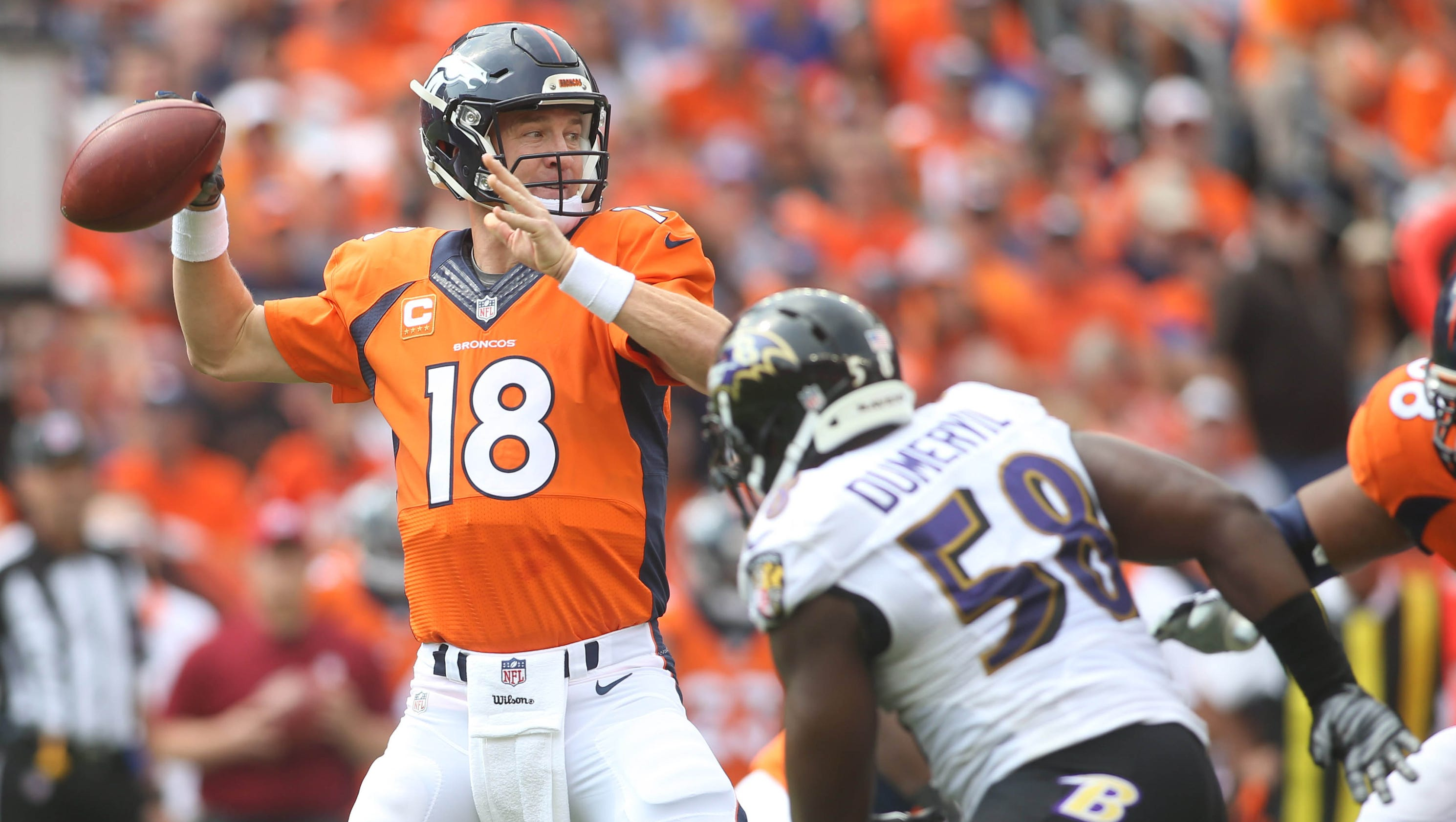 Broncos top Ravens as questions surface for both offenses