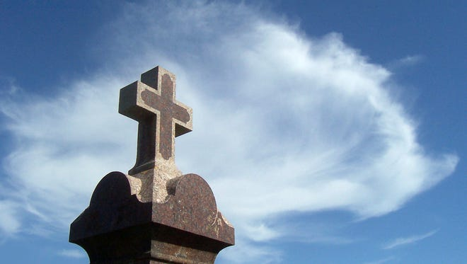 Christians grieve differently because of the hope provided by Jesus' resurrection.