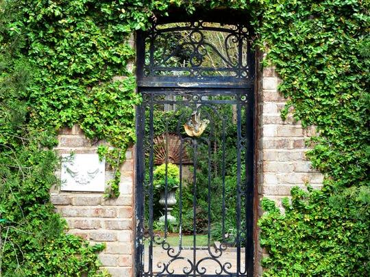 The Faraugia secret garden.