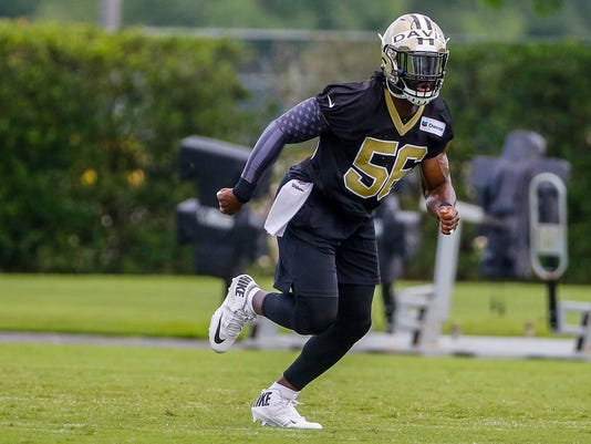 NFL: New Orleans Saints-OTA