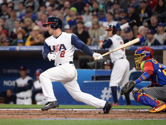 USP BASEBALL: WORLD BASEBALL CLASSIC-VENEZUELA AT S BBO USA CA