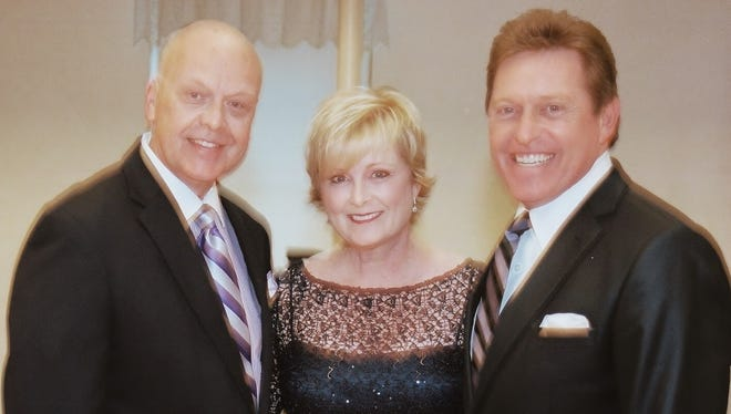 David Songer, left, Laurie Gayle Stephenson and Steve Amerson.