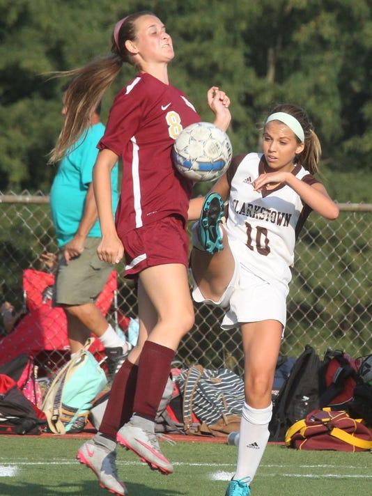Arlington at Clarkstown South girls soccer