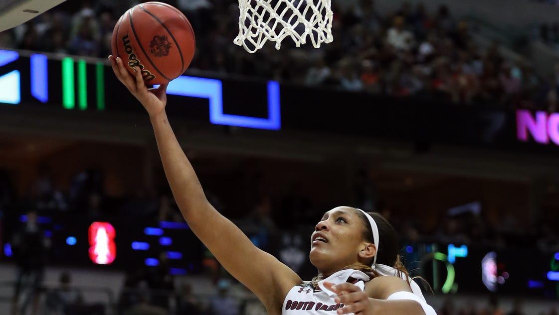 A'ja Wilson saw chance to shine at South Carolina