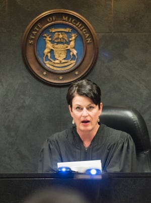 Oakland County Family Court Judge Lisa Gorcyca in Pontiac Michigan on July 10, 2015.