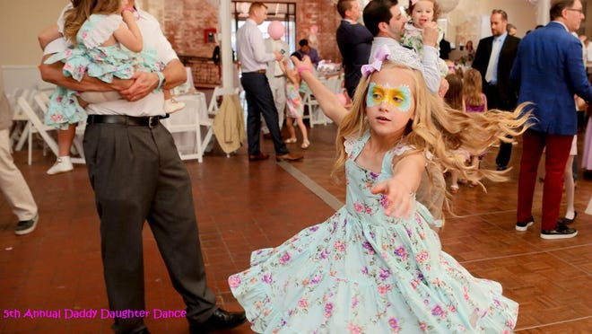 A Daddy Daughter Dance will be held 4-7 p.m. on Sunday, Oct. 18, at DREAMS Center for Arts Education in Wilmington.