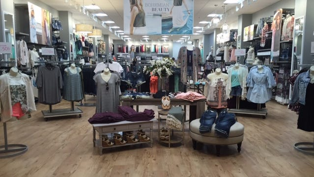 Vanity's new store design, shown here, has lighter wood flooring and a brighter look.