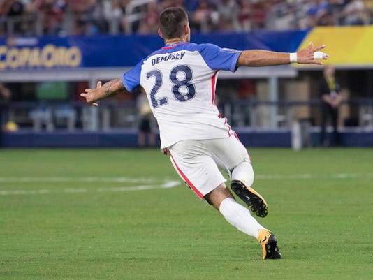 Soccer: 2017 CONCACAF Gold Cup-Costa Rica at USA