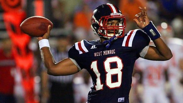 West Monroe senior quarterback Jon Randall Belton committed