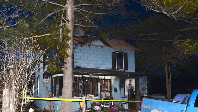 A single-family home on the 800 block of Bayard Avenue in Waynesboro was a total loss after a fire Sunday, March 8, 2015.