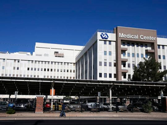 The Phoenix VA Health Care Center in Phoenix.