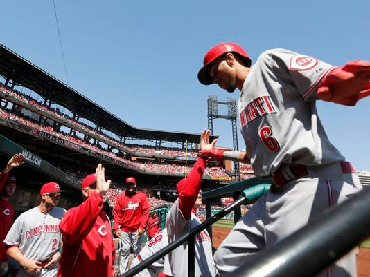 Reds Cardinals Baseball (2)