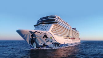 9. Norwegian Bliss. Unveiled in April 2018, Norwegian Cruise Line's largest ship ever measures 168,028 tons.