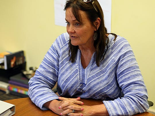 Judith Peterson, retiring principal at Salinas High
