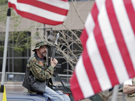 Gun Rights Rallies Indiana