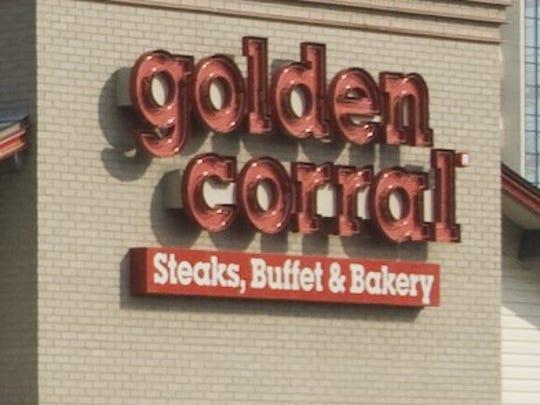 Golden Corral exterior.