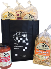 Al Dente Pasta tote is $30