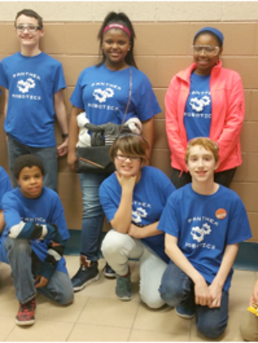 The Panther Robotics team.