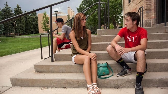 Students enjoy the small town atmosphere with high academic standards at Southern Utah University.