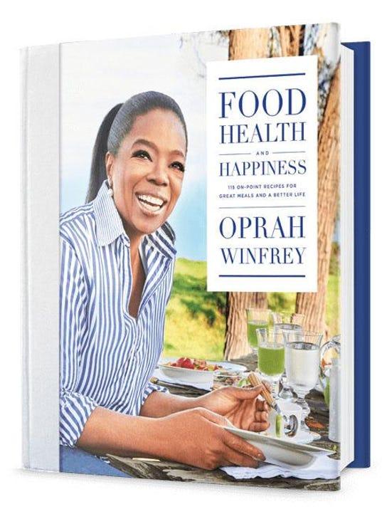 Oprah talks weight loss, new cookbook Ã«Food, Health and Happiness'