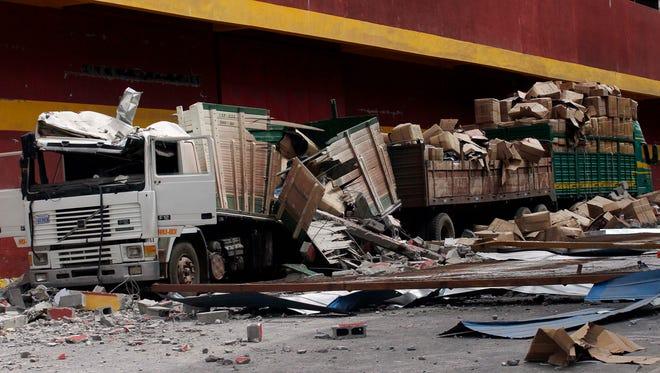 Un terremoto de 5,7 grados de magnitud en la escala de Richter sacudió la ciudad de Iquique, en el norte de Chile, informó el Servicio Geológico de Estados Unidos.