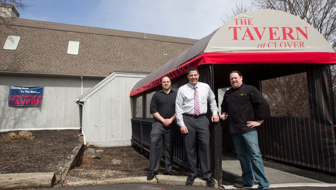 Co-owners, from left, Ryan Dwyer and his brother Nick, and chef/owner Mike Schnupp.