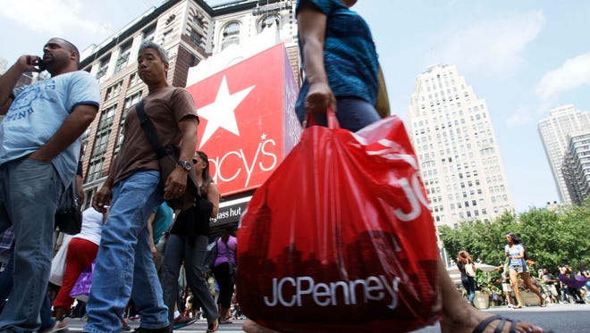 Retail sales have risen moderately after a slow start hampered by bad weather early this year.. ((AP/Frank Franklin II)