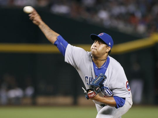 Reliever Hector Rondon pitched in 61 games for the