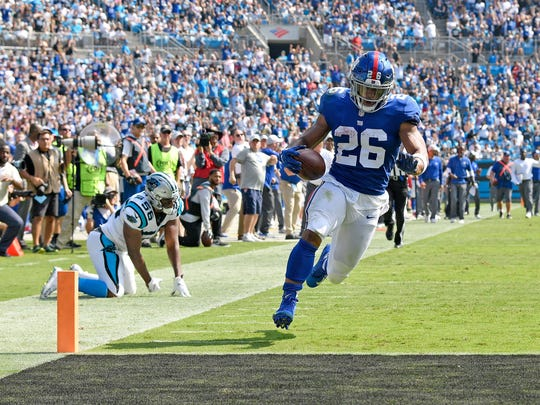 New York Giants v Carolina Panthers