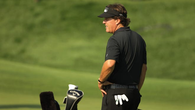 Phil Mickelson has three worldwide wins, including the British Open.