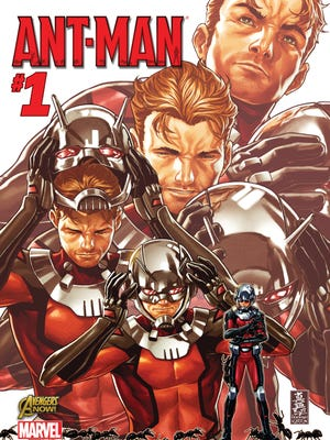 """Scott Lang gets his own solo comic in Marvel's new """"Ant-Man"""" series."""