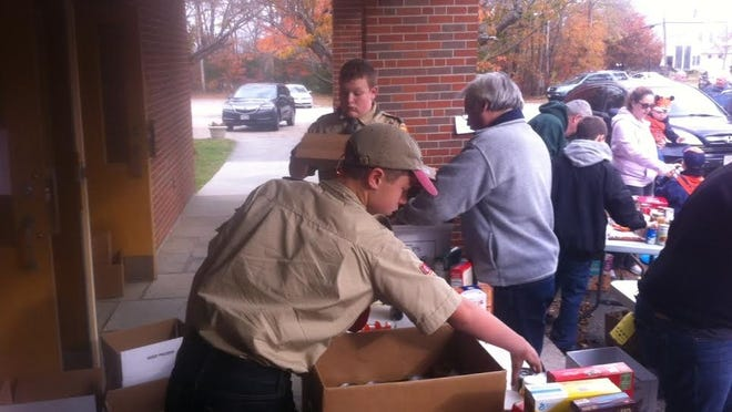 Bellingham Boy and Cub Scouts are holding a food drive next month.