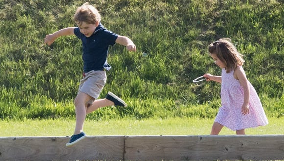 Prince George and Princess Charlotte made the most