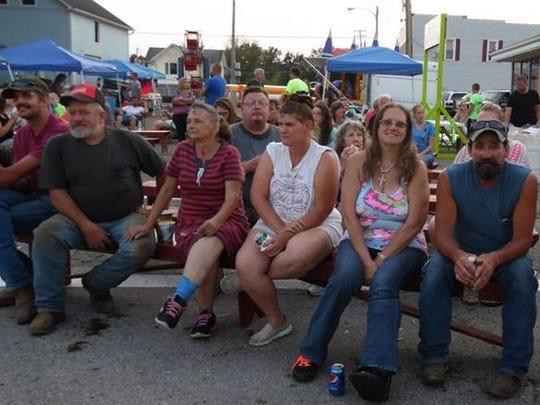 Attendees of the Butler Community Fest enjoy entertainment