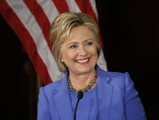 Democratic presidential candidate Hillary Clinton at USC