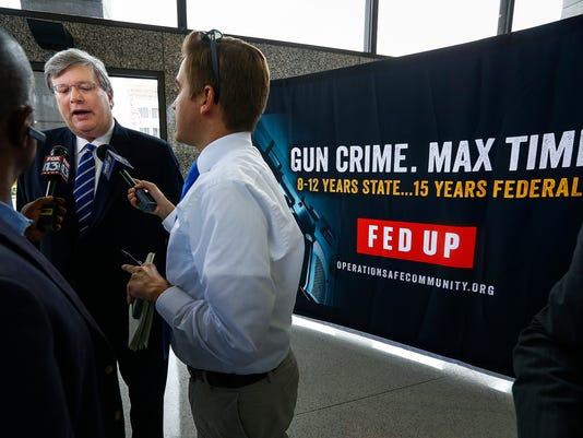 Gun Crime Fed Up LEAD