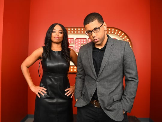 Jemele Hill, left, and Michael Smith are the new hosts