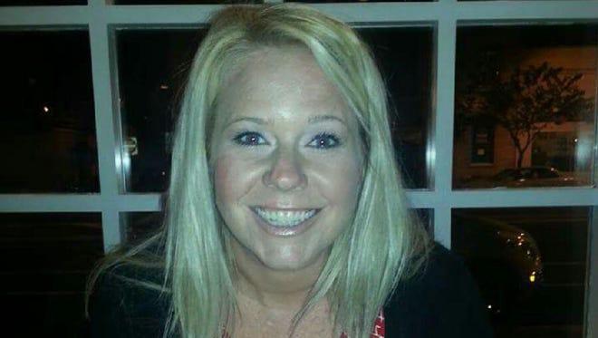 Sterling softball coach Kelly Johnson,