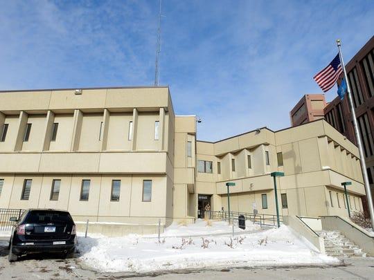 Minnehaha County Jail.